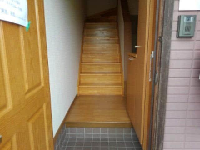 ソレアードⅠ 02030号室の玄関