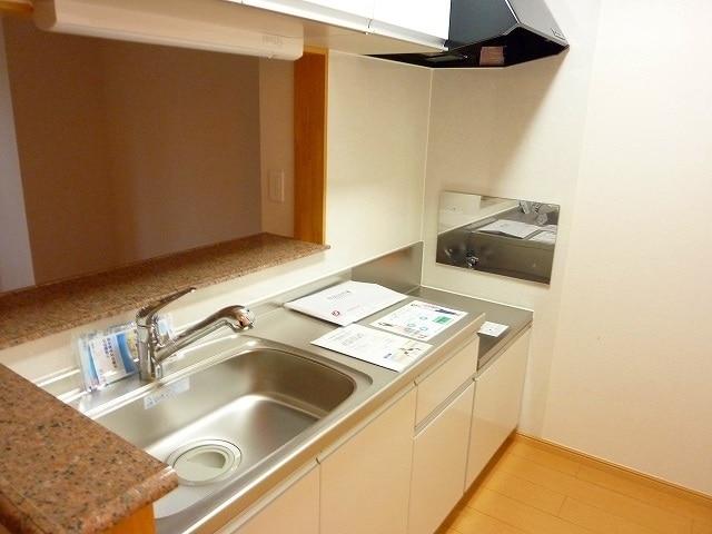 メルヴェィユーパルファンA 01040号室のキッチン