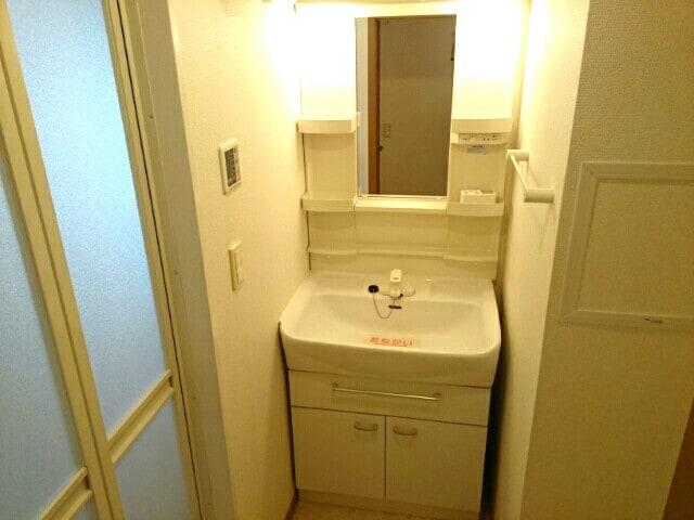 メゾンウエスト 202号室の洗面所