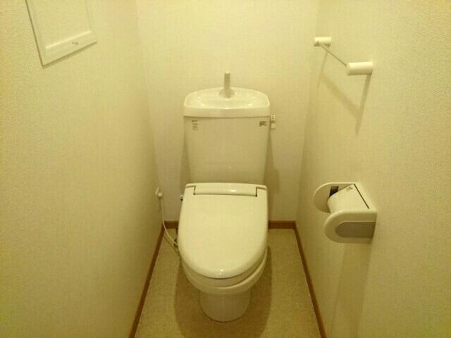 メゾンウエスト 202号室のトイレ