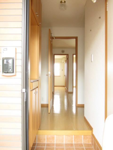 フィオーレC 01040号室の玄関