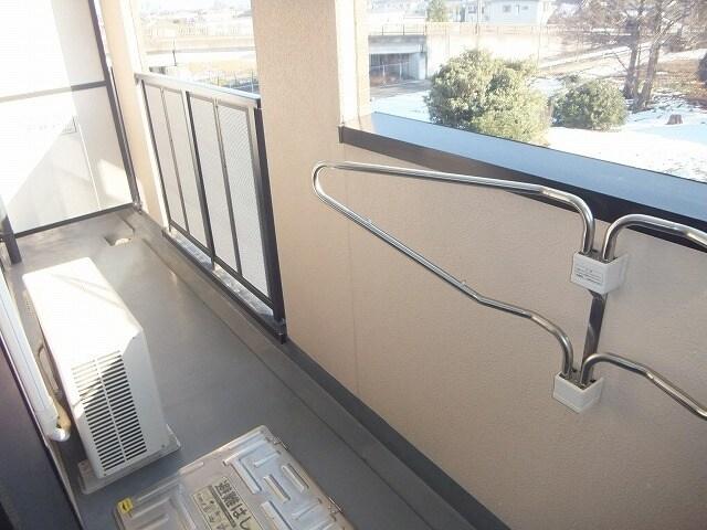 エタ-ナル・インテンション 03040号室のバルコニー