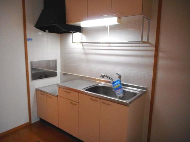 ボヌ-ル・ノワ 01040号室のキッチン