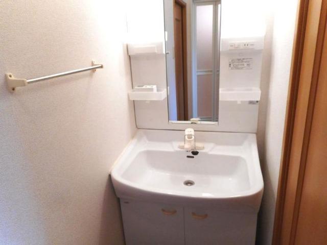 ボヌ-ル・ノワ 01040号室の洗面所