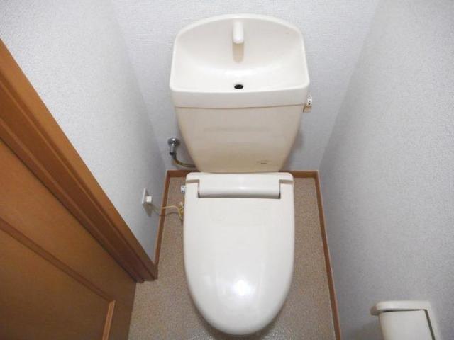ボヌ-ル・ノワ 01040号室のトイレ