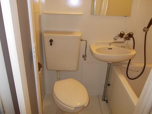 画像6:洗面所
