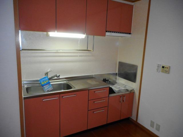 ミーツハオス 01020号室のキッチン