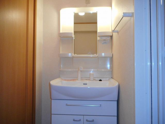 ミーツハオス 01020号室の洗面所