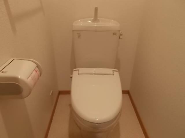 scops府庁前 105号室のトイレ