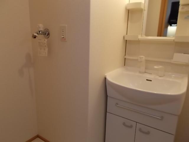 scops府庁前 105号室の洗面所