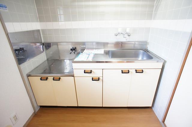 グリーンハイツ 01030号室のキッチン