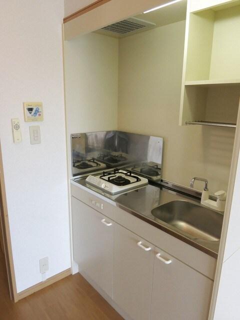 ステーシアⅢ 202号室のキッチン