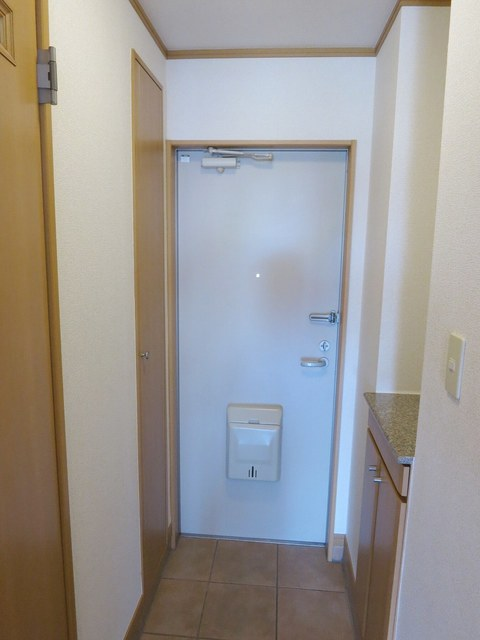 ステーシアⅢ 202号室の玄関