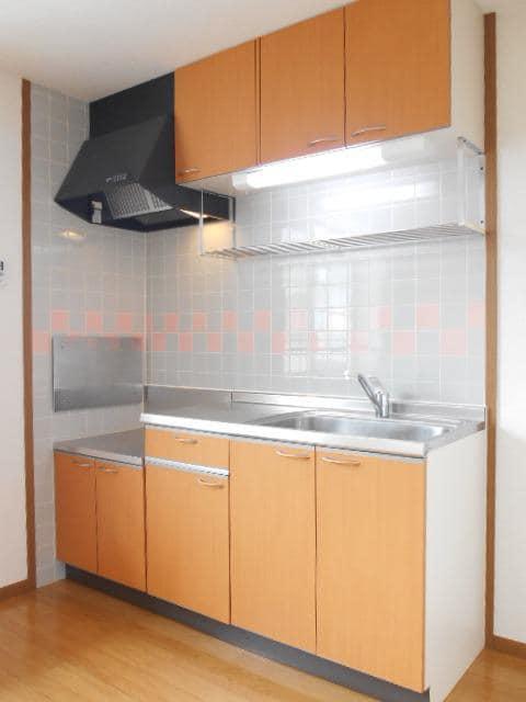 エターナル アルバ E 02020号室のキッチン