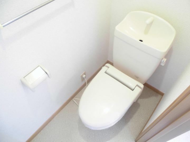 リブェール・メゾン 01020号室のトイレ