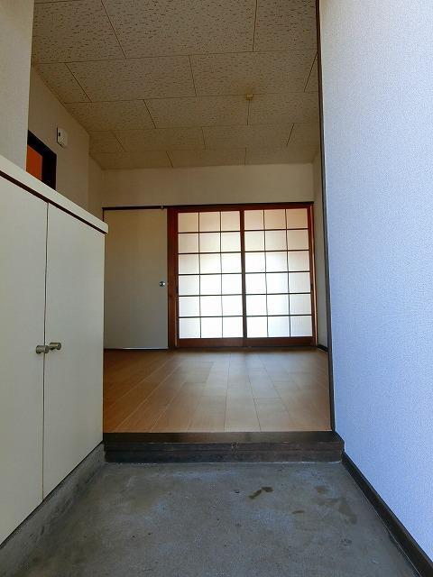 シティハイツ中島 02020号室の玄関