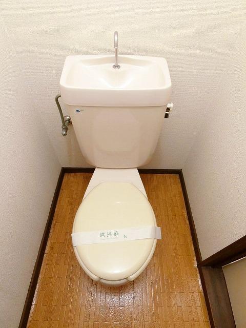 シティハイツ中島 02020号室のトイレ