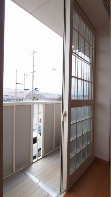サニーフィールドからたち B 02020号室のバルコニー