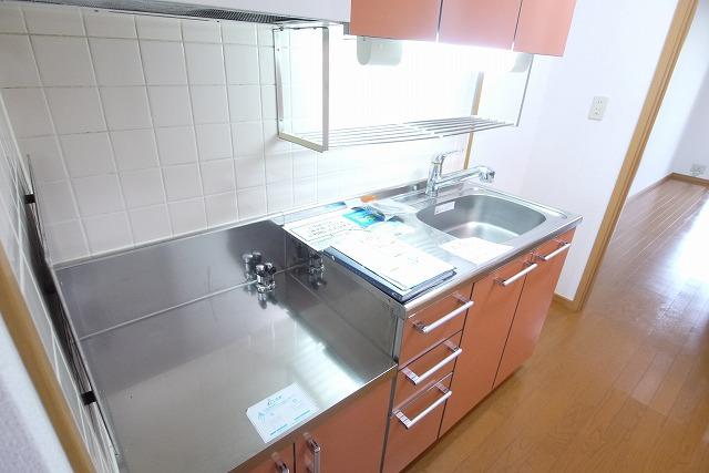 エクセレント・ビュー・かも川 303号室のキッチン