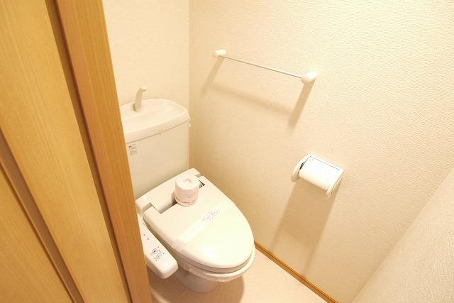 エクセレント・ビュー・かも川 303号室のトイレ
