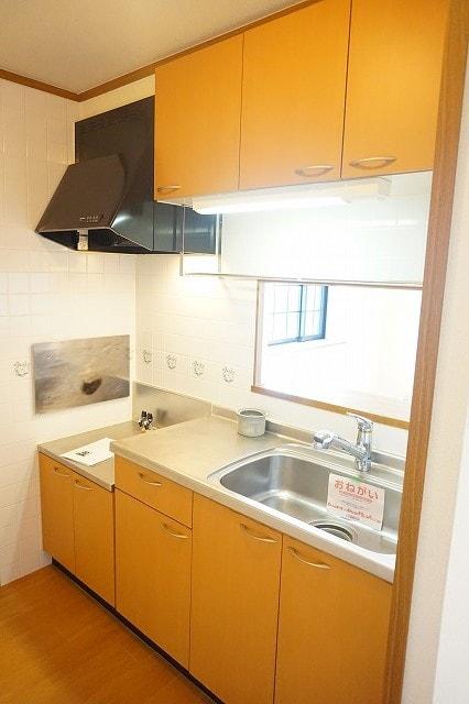 オーブリーS・K B 02010号室のキッチン