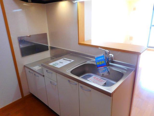 BLUELAGOON WEST 101号室のキッチン