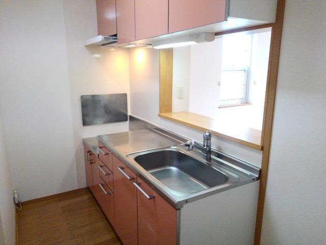 ソレアード 01040号室のキッチン