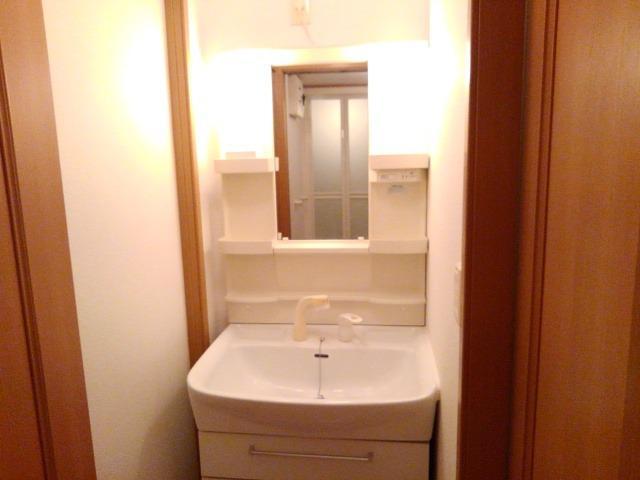 ソレアード 01040号室の洗面所