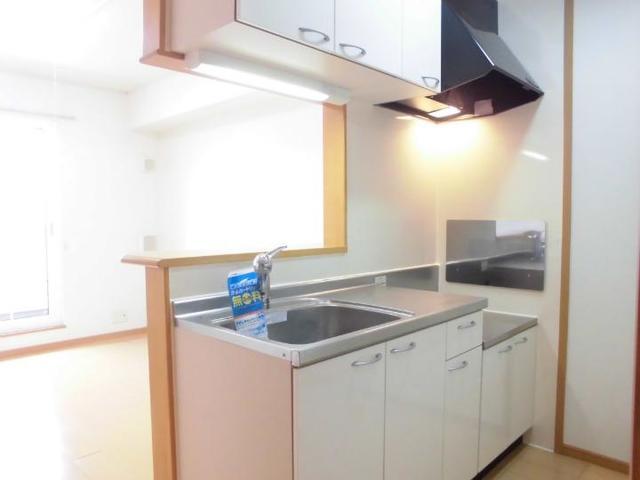 グラースA 02030号室のキッチン