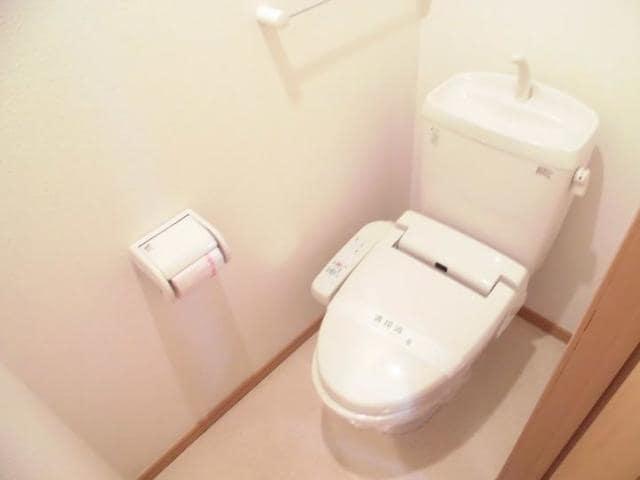 グラースA 02030号室のトイレ
