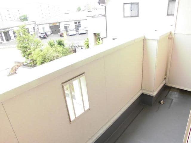 グラースA 02030号室のバルコニー