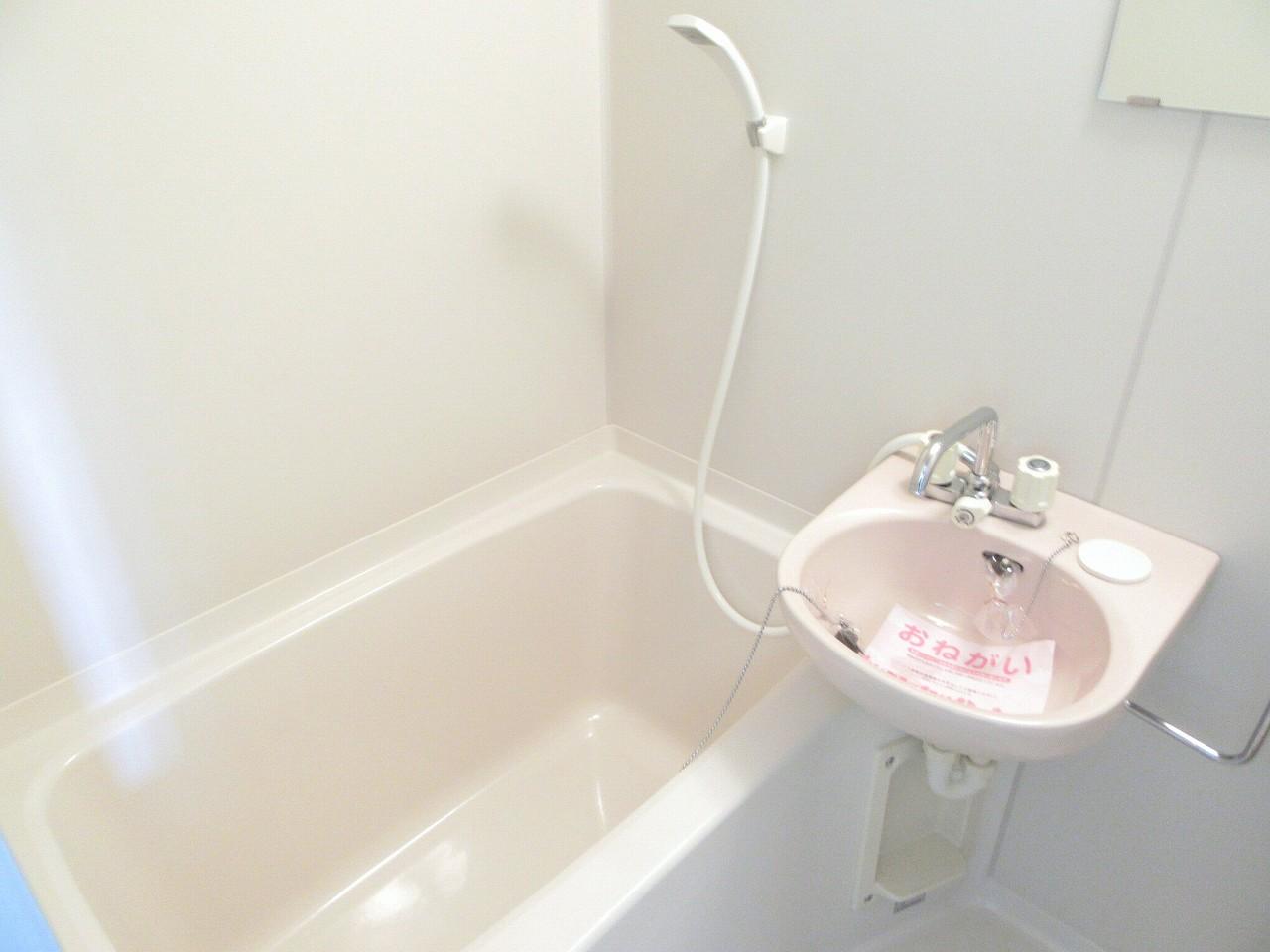 キャッスルミノオ 01030号室の風呂