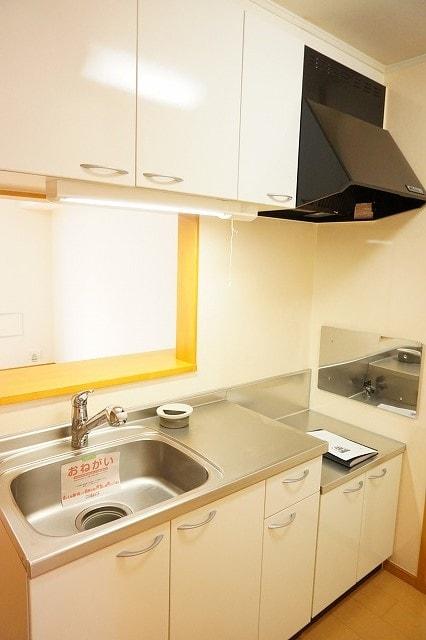 メリオル カザ A 01020号室のキッチン