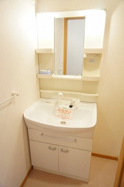 メリオル カザ A 01020号室の洗面所