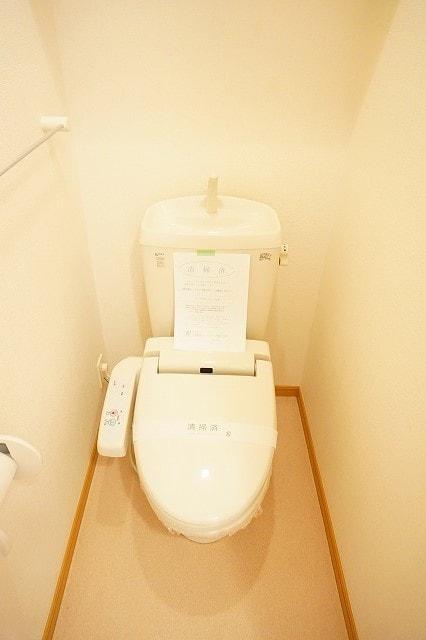 メリオル カザ A 01020号室のトイレ
