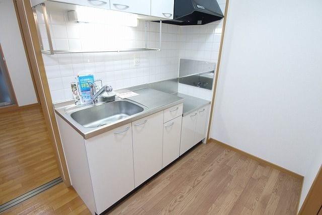 ロイヤルシティ- AYA 305号室のキッチン