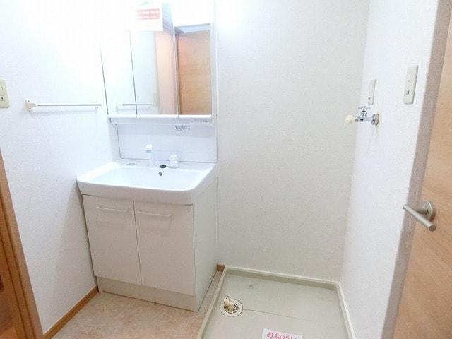 アルコバレーノ B 01010号室の洗面所
