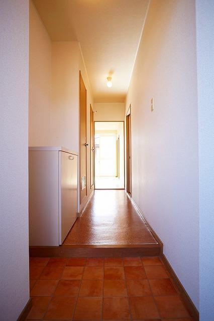 サンハイムα 02030号室の玄関