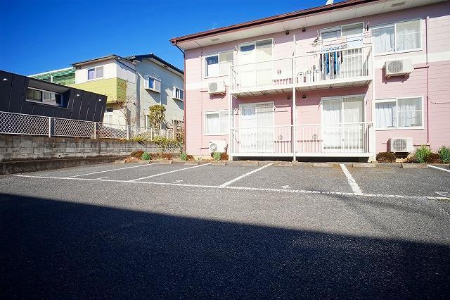 サンハイムα 02030号室の駐車場