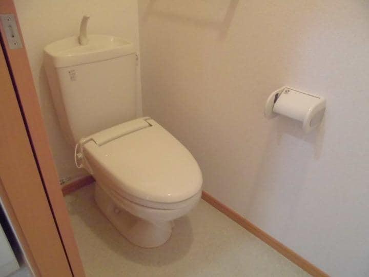 メリディオⅢ 02020号室のトイレ