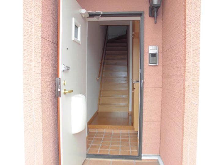 メリディオⅢ 02020号室の玄関