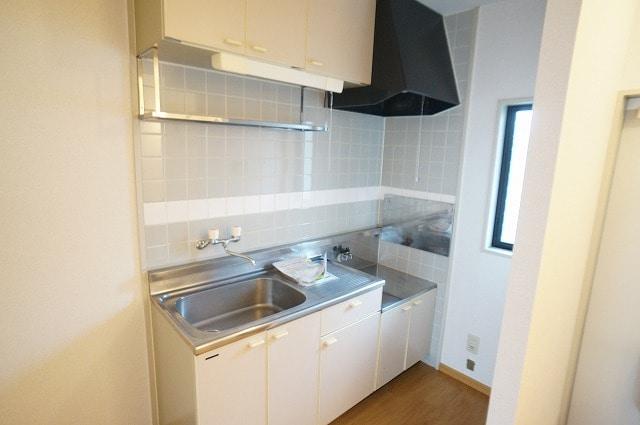 ガーデンヒルズA 103号室のキッチン