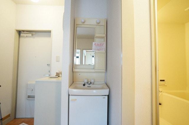 ガーデンヒルズA 103号室の洗面所