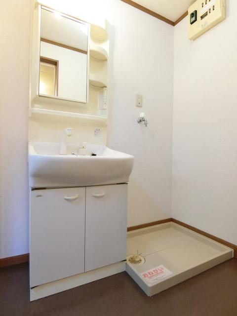 リブィールⅢ 01030号室の洗面所
