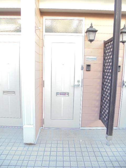 カーサグランビューA 02030号室のエントランス