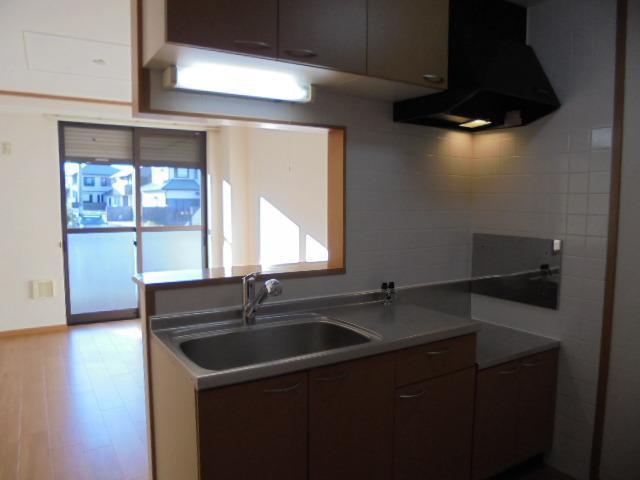 ヒル サイド コート 01060号室のキッチン