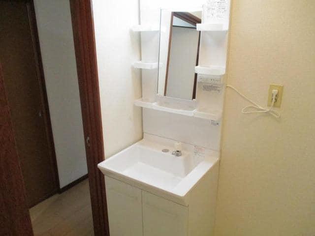 十王ハイツ 202号室の洗面所