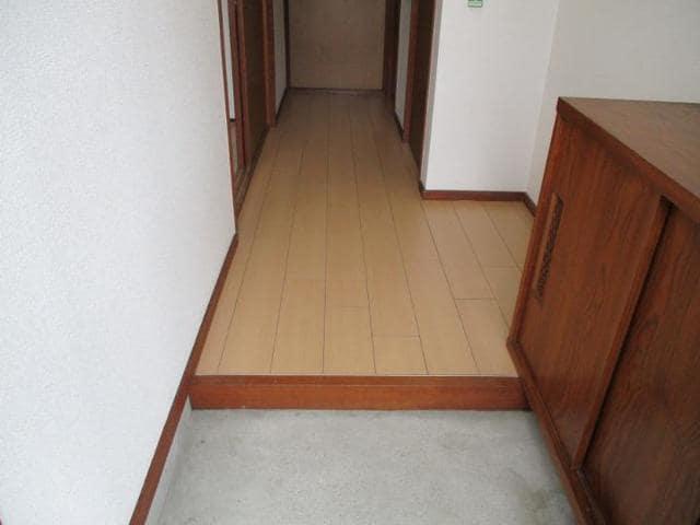 十王ハイツ 202号室の玄関