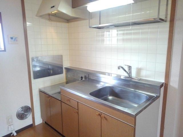 パルネットアメニティ 02020号室のキッチン