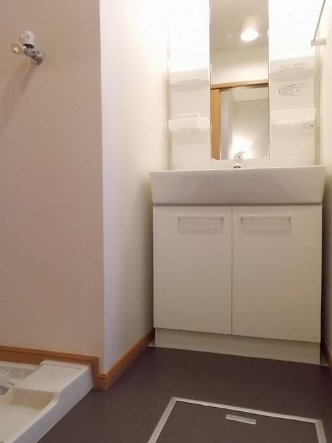 ポラリスⅡ 02030号室の洗面所